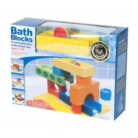Bath Blocks Ball Run & Waterfall set