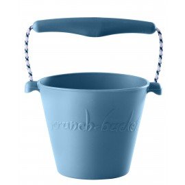 Scrunch-bucket lichtblauw
