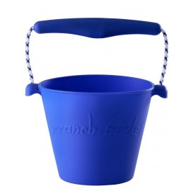 Scrunch-bucket blauw