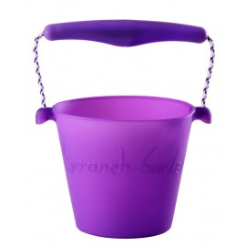 Scrunch-bucket paars